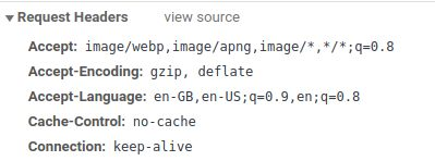HTTP Accept header